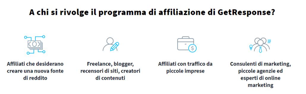 getresponse affiliate italiano